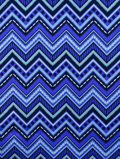 OD PEAKS MARITIME (Outdoor Fabric) #blue-turquoise #chevrons #outdoor #patterns #print-fabrics