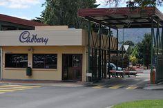 The Cadbury Factory, Tasmania!