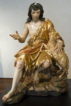 San Juan Bautista (Alonso Cano) Arte-Paisaje - (après restauration)