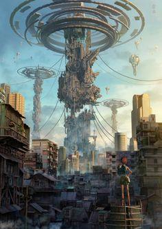 nuestras ciudades se veran invadidas de robotica y perderan su naturalidad