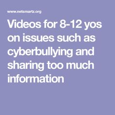 NSTeens: Videos for yos on issues such as cyberbullying and sharing too much information Cyber Safety, Computer Class, Internet Safety, Digital Literacy, Teaching Technology, Digital Citizenship, Parental Control, Media Center, Teacher Resources