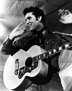 Elvis himself, where is my guitar? The official king of the quiff – Elvis and his hairstyle was (and still is) emulated across the globe (and now, not only by cheesy impersonators). Towering and jet-black, his inimitable hair truly turned him into a global icon.