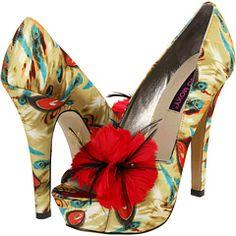 Pantofi cu platforma Mojo Moxy Tweety