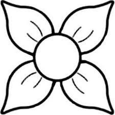 Resultado de imagem para desenhos de flores com miolo grande