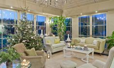 Christmas in a conservatory - Interiors by Vale Home, Home And Garden, Conservatory Interiors, Outdoor Decor, Furniture, Interior, House, Conservatory Furniture, Outdoor Furniture Sets