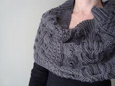 knit cowl sampler...