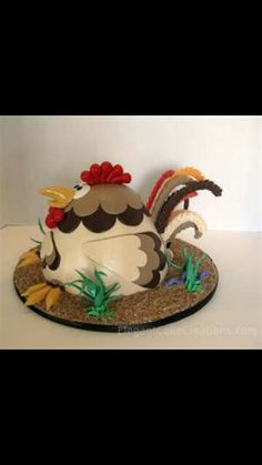 Chicken cake...I love this!!!
