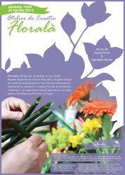 Aranjamente florale speciale si coronite pentru Sarbatoarea Floriilor si Paste la Muzeul Grigore Antipa