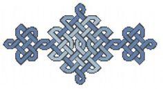 free celtic knotwork cross stitch pattern available at Craft Gossip cross stitch… Free Cross Stitch Charts, Counted Cross Stitch Patterns, Cross Stitch Designs, Cross Stitch Embroidery, Celtic Patterns, Celtic Designs, Celtic Cross Stitch, Crochet Borders, Crochet Cross