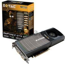 ZOTAC ZT-50205-10P 1280MB GeForce GTX 570 DDR5 PCI-Ex 320Bit