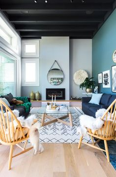 Soft Color Living Room