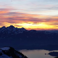 pure magic. #switzerland #sunset #nofilter www.wordsthroughtheeyes.com