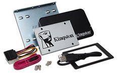 Kingston SSDNow UV400 120 GB Solid State Drive 2.5 Inch SATA 3 with Desktop/Notebook Upgrade Kit