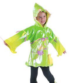 Green Fairy Raincoat - Infant, Toddler & Kids