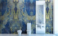 green marble effect bathroom wall panels