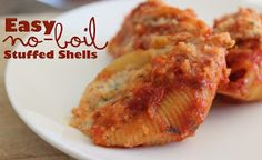 Sunny Days With My Loves - Adventures in Homemaking: Easy No Boil Stuffed Shells With Ragú Homestyle