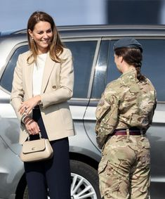 Duke And Duchess, Duchess Of Cambridge, Return To Work, Prince William And Catherine, Kate Middleton Style, Princess Charlotte, Royal Fashion, British Royals, Military Jacket