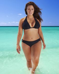 Ashley Graham — ALL woman!! I love her.