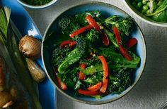 Both broccoli and red peppers are a great choice for a kidney-concious diet, so why not try this delicious-looking Purple Sprouting Broccoli, Red Pepper and Chilli Salad ?