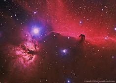 A nebulosa Cabeça de Cavalo (ou Barnard 33) é uma nebulosa escura na constelação de Orion. A nebulosa está localizada logo abaixo de Zeta Orionis, estrela que faz parte do cinturão de Órion.