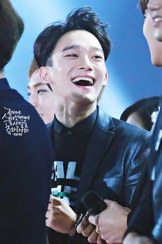 Chen - 151230 2015 KBS Gayo Daejun Credit: 널 닮은 눈부심. (2015 KBS 가요대축제)