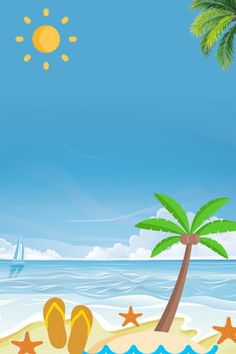 summer beach blue background minimalist style Minimalist Style, Minimalist Fashion, Blue Backgrounds, Summer Beach, Banner, Poster, Creativity, Backgrounds, Minimal Style