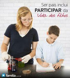 Como ajudar seu filho com o projeto de ciências