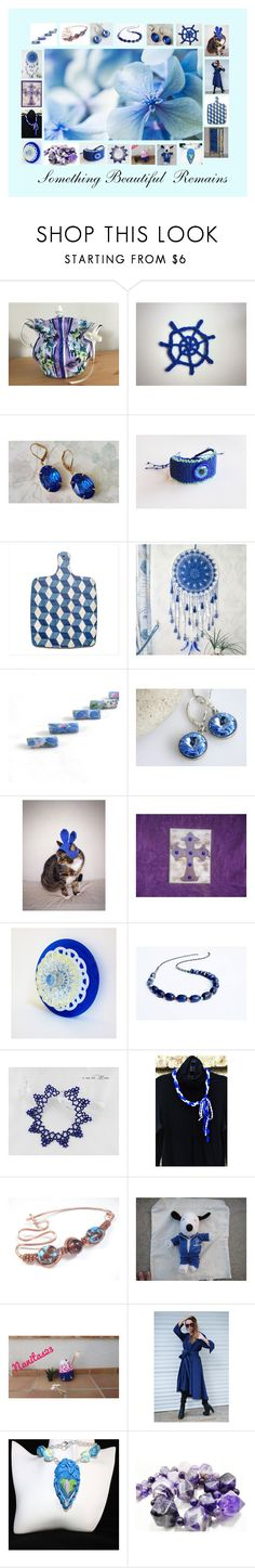 """""""Something Beautiful Remains: Great Gift Ideas in Blue"""" by paulinemcewen on Polyvore featuring Lazuli, rustic, vintage and country"""