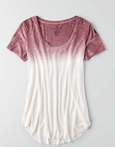 AEO Soft & Sexy Short Sleeve T-Shirt , Gray | American Eagle Outfitters