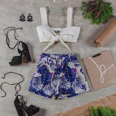 Ya tienes el outfit, ahora... a planear el viaje a la playa! 🏖️️☀️ #Croptop $50.000 #Short $95.000 #Zapatos $130.000 #Aretes $50.000  #Regram via @Brk9R4dHtib Instagram, Shopping, Gifs, Thinking About You, Earrings, Zapatos, Branding