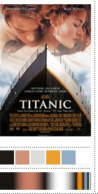 The Color of Top Grossing Movies Titanic