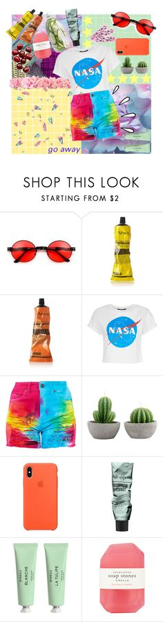 """Busy Colors"" by raynebowhazza on Polyvore featuring Color Me, Aesop, Old Navy, Hello Kitty, Byredo and Pelle"