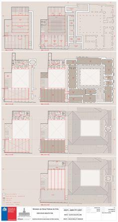 Primer Lugar Concurso Edificio Anexo Museo Histórico Nacional de Chile