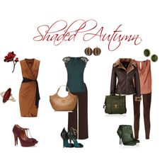 """""""Shaded Autumn looks"""" by sabira-amira on Polyvore"""