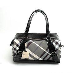 Burberry New Check Handbag Black