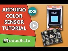 Arduino Tutorial: Using a Color Sensor (TCS230) with Arduino Uno and ST7735 color TFT display. v#HackerSpaceTech #arduino #arduinoclass #tutorials www.hackerspacetech.com www.arduinoclass.com