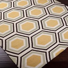 Honeycomb Dhurrie Rug - 5 color combos!
