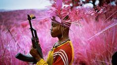 """La mort en rose"" By now you've probably seen Richard Mosse's Infra, photography…"