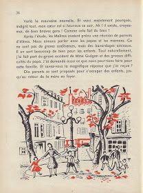 Manuels anciens: Jean Sauvestre, L'École du printemps (lecture suivie CM, 1957) Fernand Nathan, French Language Learning, Jeans, Books, Spring, Libros, Learn To Speak French, Book, Book Illustrations