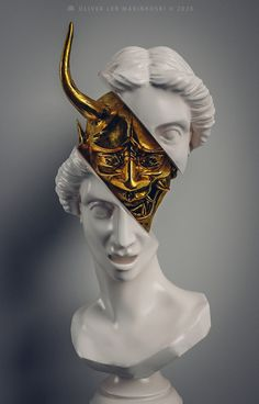 Aesthetic Japan, Aesthetic Art, Korean Art, Asian Art, Black And Gold Aesthetic, Arte Dope, Greek Statues, Pop Art Wallpaper, Arte Horror
