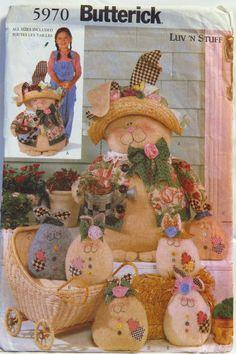 Butterick 5970 Porch Bunnies