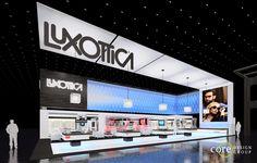 Luxottica Eyewear 80' x 90' Island Exhibit