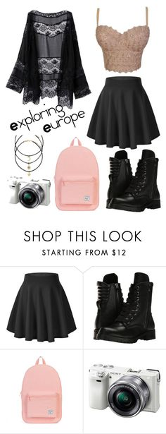 """Exploring Europe"" by sskim2288 ❤ liked on Polyvore featuring Capezio, Herschel and Sony"
