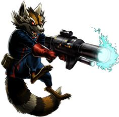 Rocket Racoon from the Guardians of the Galaxy Marvel Avengers Alliance, Avengers Team, Marvel Avengers Assemble, Avengers Art, Marvel Comic Universe, Marvel Comics Art, Marvel Heroes, Comics Universe, Marvel Dc