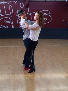 #Derekhough and #AmyPurdy behind the scenes #Disney week rehearsals #waltz #dwts #purdyhough #Teamamy #Amyandderek #cinderella