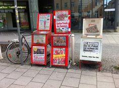 Automaten-Kultur: Zeitungsautomaten München