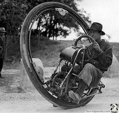 一輪バイク(1931年)