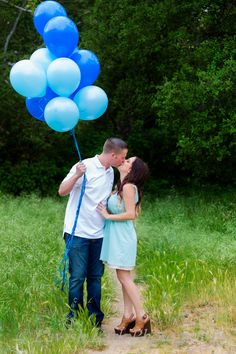 Gender Reveal  Photos by Lavish Lark Photography
