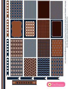 free printable stickers for happy planner illustrations imprimer pinterest design. Black Bedroom Furniture Sets. Home Design Ideas