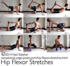 camel pose tight hip flexor - Google Search